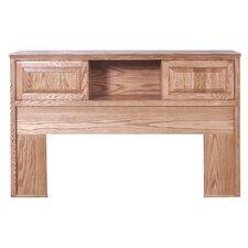 Queen Bookcase Wood Headboard