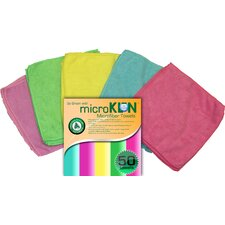 MicroKLeN Microfiber Towels (Set of 50)
