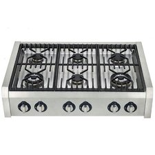 36 cu. Ft. Gas Range in Stainless Steel