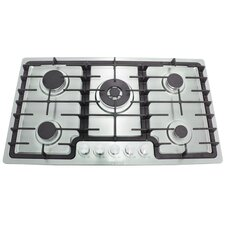 "36"" Gas Cooktop with 5 Burners"