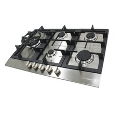 "34"" Gas Cooktop with 5 Burners"