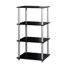 Three Storage Shelf Shelving Unit