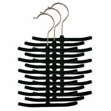 Velvet Tie Hanger (Pack of 3) (Set of 2)