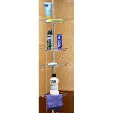 "8.25"" W x 94"" H Shower Bathroom Shelf"