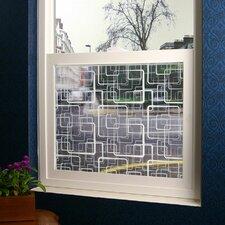 Squares Sheer Window Film