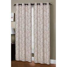 Dover Linen Blend Grommet Curtain Panel (Set of 2) (Set of 2)
