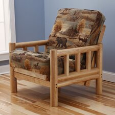 Lodge Canadian Futon Chair and Mattress