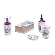 5 Piece Melamine Bathroom Set