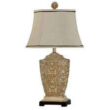 "30"" H Table Lamp with Bell Shade"