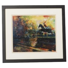 The Jump by Lance Richbourg Framed Painting Print