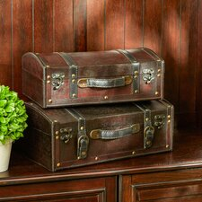 LePard 2-Piece Leather Box Set