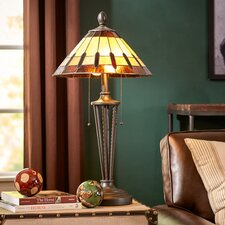 "30"" H Table Lamp with Cone Shade"