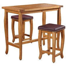 Spencer 3 Piece Pub Table Set