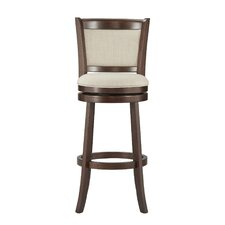 "Jaxon 29""H Swivel Bar Stool with Cushion"