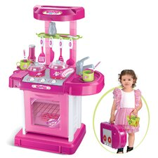 Play and Carry Plastic Play Kitchen