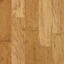 "5"" Engineered Cherry Hardwood Flooring in Natural"