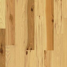 "4"" Solid Hickory Hardwood Flooring in Country Natural"