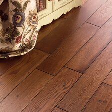 "Carriage House 5"" Solid Oak Hardwood Flooring in Toast"