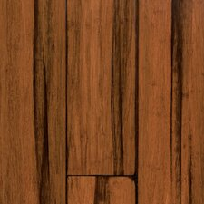 "Expressions 5-1/4"" Solid Bamboo Hardwood Flooring in Antique Black"