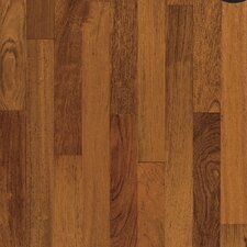 "4-18/25"" Engineered Exotic Hardwood Flooring in Brazilian Cherry Natural"