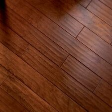 "5"" Engineered Cherry Hardwood Flooring in Bronze"