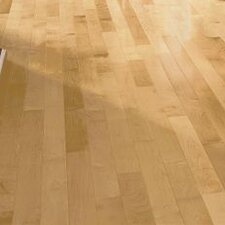 """3-1/4"""" Solid Maple Hardwood Flooring in Country Natural"""