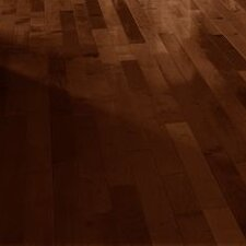 "3-1/4"" Solid Maple Hardwood Flooring in Cocoa Brown"