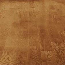 "5"" Solid Red Oak Hardwood Flooring in Butterscotch"