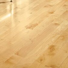 "5"" Solid Maple Hardwood Flooring in Natural"
