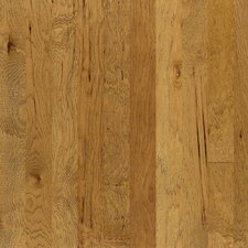 "5"" Engineered Hickory Hardwood Flooring in Parchment"