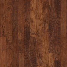 "5"" Engineered Hickory Hardwood Flooring in Harvest"