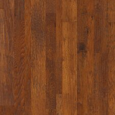 Random Width Engineered Hickory Hardwood Flooring in Autumn