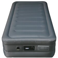 Lustrous Raised Air Bed Laminated Nylon Polyester Fabric Air Mattress