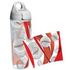 Game On Baseball Water Bottle