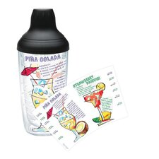 Eat Drink Be Merry Tropical Drinks 16 Oz. Water Bottle