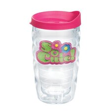 Totally Kids So Cute 10 Oz. Wavy Tumbler with Lid