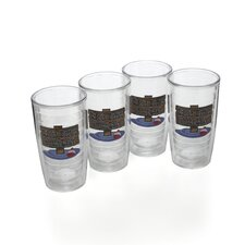 Life Is Better At The Lake 16 oz. Insulated Tumbler (Set of 4)