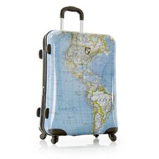 "Journey-Maps 26"" Spinner Suitcase"
