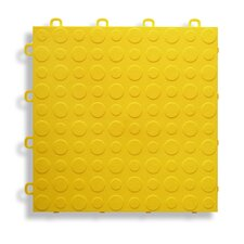 "12"" x 12""  Garage Flooring Tile in Yellow"