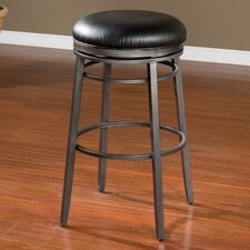 "Silvano 30"" Swivel Bar Stool with Cushion"
