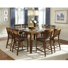 Delphina 9 Piece Counter Height Pub Set