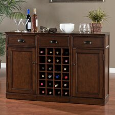 Natalia Bar Cabinet with Wine Storage