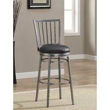 Easton Swivel Bar Stool with Cushion