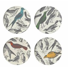 "Ornithology 11"" Dinner Plate (Set of 4)"