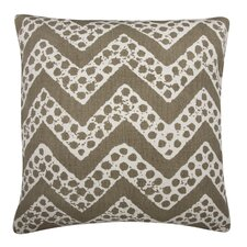 Fragments Chevron Cotton Throw Pillow