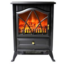 Vintage Freestanding Stove Heater Electric Fireplace