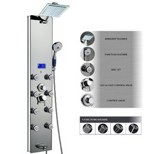 Tower Rainfall Shower Panel System
