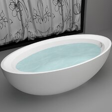 "63"" x 33.45"" Soaking Bathtub"