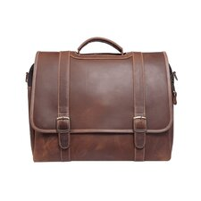 Old Fort Leather Laptop Briefcase