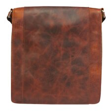 Ringtail Leather and Canvas Messenger Bag